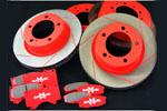 Вентилируемые тормозные диски Задние LEXUS LX570 2007- (Battlez, 519120)
