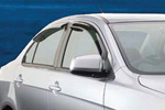 Дефлекторы окон Mitsubishi Lancer X SportBack 2007- (EGR, 92460030B)