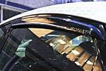 Ветровики (дефлекторы окон) для Hyundai Sonata (от 2011) хром (BGT-PRO, SWEHR-HYU-SON11)