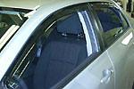 Ветровики (дефлекторы окон) для Toyota Corolla (BGT-PRO, SWE-TOYCOR)