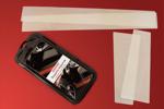 Полиуретановая пленка на пороги (защитная) для Audi A4 2008- (AutoProTech, BP.AUDA408.TIP)