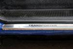 Накладки на внутренние пороги (нерж.) для Volkswagen Transporter/Multivan T4 1990-2003 (Nata-Niko, P-VW36)