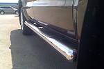 Пороги B4 (труба) с пластиковыми накладками Volkswagen Amarok 2011 (Can-Otomotiv, VWAM.43.5020)