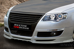 "Юбка переднего бампера ""Maxton-Style"" Volkswagen Passat 2006- (AD-Tuning, VWPB6-FS)"