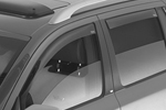 Ветровики (дефлекторы окон) для Volkswagen Amarok 2009- (Climair, CLI0033665/CLI0044276)