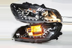 Передняя светодиодная оптика для Volkswagen Passat B7 2010- (JANYAN, VWPSB7.LD.V4)