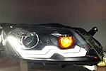 Передняя светодиодная оптика для Volkswagen Passat B7 2010- (JANYAN, VWPSB7.LD.V2)