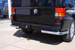 Защита задняя (уголки одинарные) для Volkswagen T4 1996 (Can-Otomotive, VWT4.53.3768)
