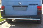 Задняя защита прямая для Volkswagen T4 1996- (Can-Otomotive, VWT4.57.3764)