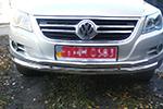 Защита переднего бампера «Cityguard» Volkswagen Tiguan 2007- (UAtuning, VW.TGN.C101)