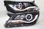 Передняя светодиодная оптика для Volkswagen Tiguan 2010- (JUNYAN, VWTIG.YZTYP10.01)