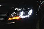 Передняя светодиодная оптика для Volkswagen Tiguan 2010- (JUNYAN, VWTIG.PWTYP10.01)