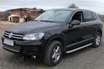 Боковые пороги Alyans для Volkswagen Touareg 2010- (Can-Otomotive, VWTU.ALYANS.47.4518)