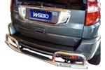 Защита заднего бампера Geat Wall Hover (Winbo, D240625)