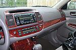 Накладки салона Toyota Camry 2005-2006 10 Pcs (Wowtrim, TACY02A)