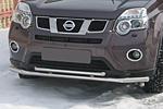 Защита переднего бампера «Cityguard» двойная Nissan X-Trail 2010- (UAtuning, NIS.XT.F01)