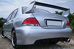 "Задний бампер ""EVO 9 Rallyart"" Mitsubishi Lancer 9 03-06 (AD-Tuning, RBLR9-RA)"