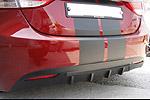 Задний диффузор Hyundai Elantra 2011- (SMotors, HYU-EL11RS4827)