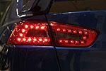 "Задняя светодиодная оптика ""Smoke"" Mitsubishi Lancer X  (BGT-PRO, MB361-B9DE4-0011)"