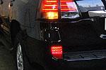 Фонари в задний бампер (красные) для Lexus LX570 (BGT-PRO, R-LIGHTR-LEX-LX570)