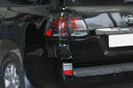 Фонари в задний бампер (дымчатые) для Lexus LX570 (BGT-PRO, R-LIGHTS-LEX-LX570)