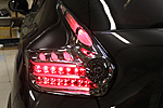 Задняя светодиодная оптика (black) для Nissan Juke (BGT-PRO, R-LIGHTB-NIS-JUKE)