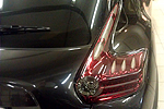 Задняя светодиодная оптика (Red) для Nissan Juke  (BGT-PRO, R-LIGHTR-NIS-JUKE)