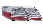 "Задняя светодиодная оптика ""White USA"" Toyota Camry 2007- (BGT-PRO, TC-TAILLIGHT-WHI)"