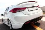 Задний спойлер Hyundai Elantra 2011- (MOBIS, HM.DS.PHM.01)