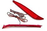 Задние диодные катафоты (Красные) Hyundai Elantra 2011- (BGTPro, HYU-EL11R17)