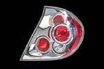 Задняя оптика «Хром» Toyota Camry V30 (DLAA, CTL-T785A)