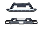 Накладки на передний и задний бамперы для Nissan X-Trail 2014+ (Kindle, HM-NX-B46/HM-NX-B47)