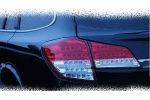 Задняя светодиодная оптика (задние фонари) для Subaru Outback (B14) 2010-2013 (JUNYAN, 60-1407RC)