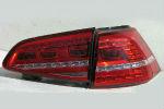 Задняя светодиодная оптика (задние фонари) для Volkswagen Golf VII 2013+ (JUNYAN, s-wong-golf7)