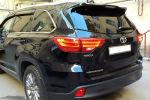 Задняя светодиодная оптика (задние фонари) для Toyota Highlander 2014+ (JUNYAN, XZ45R)