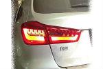 Задняя светодиодная оптика (задние фонари) для Mitsubishi ASX 2010-2012 (JUNYAN, YAB-AX-0210-R)
