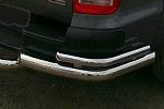 Защита задняя (уголки) Volkswagen Amarok 2011 (Can-Otomotiv, VWAM.53.1022)