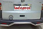Задняя защита с изгибом VolksWagen T5 2004 (Can-Otomotiv, VWT504RBGBO5)
