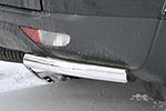 "Защита задняя d60 ""уголки"" одинарные Mitsubishi Pajero Sport 2008- (Союз-96, MIPS.76.0782)"