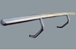 Защита задняя труба Mercedes Vito W638 (Can-Otomotive, MV.638.0023R)