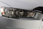 Защита фар Mitsubishi Lancer X SportBack  2007 (EGR, 3933)