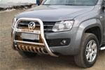 Дуга передняя с защитой картера Volkswagen Amarok 2011 (Can-Otomotiv, VWAM.37.1019)