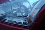 Защита фар Mercedes ML 05-08 (EGR)