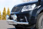 Защита переднего бампера Suzuki Grand Vitara 2005- (Jaos, B151502)