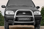 Защита переднего бампера (кенгурятник) Chevrolet Niva (Winbo, А032506)