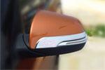 Хром накладки на основание боковых зеркал для HYUNDAI Tucson IX-25 2014+ (Kindle, HX-C41)