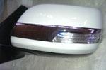 Хром накладки на зеркала к-т 2 шт. для Toyota Prado FJ150 2007-2012 (S-Line, KR.SL.LC150.MСS)
