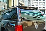 Спойлер (на кунг) для Volkswagen Amarok 2010+ (Aeroklas, LUX)